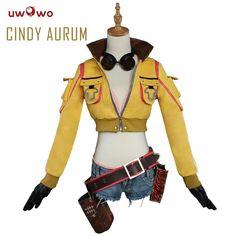 Cindy Aurum Cosplay Final Fantasy XV FF15 FFXV Uwowo Costume Full Set