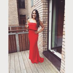 What a beauty ❤! @sazzlepop24 looks so so gorgeous in #JarloLondon #Blaze maxi dress that she wore for her #GraduationBall! Thank you for sharing, we love your look!