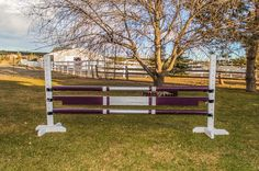 Making planks that match your rails for horse jumps https://www.facebook.com/budgetequestrian/photos/pcb.590898524420328/590898154420365/?type=3