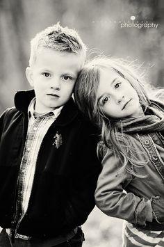 leaning on siblings