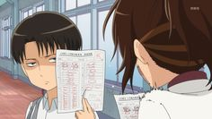 Attack on Titan: Junior High || lol hanji's reaction at this scene was the best