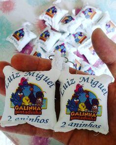 Amo o que faço  #almochaveiropersonalizado #almochaveiro #galinhapintadinha #galinha #pintadinda #aniversário #luis #miguel #luismiguel…