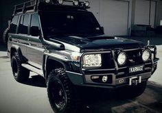 I want this car Toyota 4x4, Toyota Cars, Toyota Hilux, Toyota Tacoma, Land Cruiser 70 Series, Land Cruiser 80, Toyota Land Cruiser, Best Off Road Vehicles, 4x4 Wheels