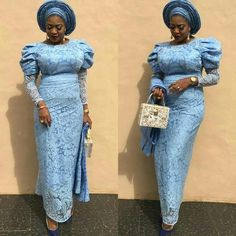 Beautiful Aso ebi Styles: Lovely Dress for African 2019 Latest African Fashion Dresses, African Dresses For Women, African Print Fashion, African Attire, African Clothes, Nigerian Lace Styles, African Lace Styles, Ankara Styles, Nigerian Dress