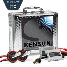 35W HID H8 Conversion Kit with Slim Digital Ballasts