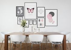 10 tips på hur du skapar din tavelvägg - Roomly. Picture Wall, Picture Frames, Beautiful Home Designs, Easy Wall, Find Furniture, Eclectic Decor, Scandinavian Style, Decoration, Wall Prints