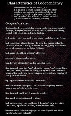 There is hope and healing available for Codependency. Find a Celebrate Recovery program near you. They will help you with your hurts, habits, and hang-ups. Chart by Melanie Tonia Evans Codependency Recovery, Codependency Quotes, Celebrate Recovery, Stress, Family Therapy, Therapy Tools, Art Therapy, Addiction Recovery, Addiction Quotes
