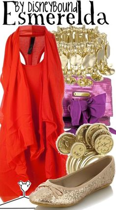 Esmeralda by Disney Bound The Hunchback of Notre Dame Disney Fashion Outfit