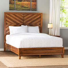 August Grove Kevin Panel Bed
