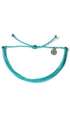 2ba2b0f9f07b5 Solid Pacific - Turkuaz Bileklik - #elyapimi her bileğe göre #ayarlanabilir  #rengarenk #bileklik takı tasarımı, Pura Vida Bracelets, #alisveris  www.bolindo. ...