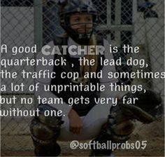 We have a bad catcher, so that's why out team sucks Softball Chants, Softball Memes, Baseball Quotes, Baseball Boys, Softball Players, Girls Softball, Fastpitch Softball, Softball Stuff, Basketball