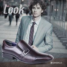 Alguns homens precisam demonstrar o quanto são maduros, engajados e interessantes. Porque de fato, são. #look #mens #fashion #style #classic #modern #Sandalo