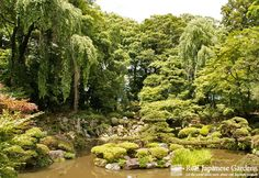 Magnificent pond and rock garden of Erin-ji (恵林寺) near Yamanashi City in Yamanashi-Ken, designed by its founder Muso Soseki (夢窓疎石). It is just a 90 minute train ride from Shinjuku station in Tokyo. Our recommendation: Combine it with a visit to one of Yamanashi's great open air onsen with view of Mt. Fuji!  http://www.japanesegardens.jp/gardens/famous/000022.php    Erin-ji | Real Japanese Gardens