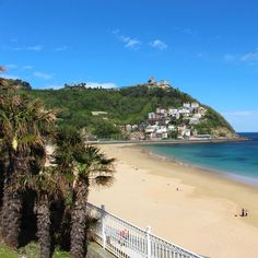 Monte Igueldo in San Sebastian. Nice place to take a walk or to have a fantastic view at San Sebastian. Travel Tipps, sights, attractions.