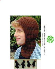 Balaclava and Gloves knitting pattern
