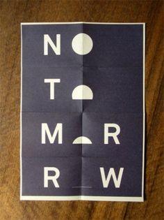 No Tomorrow.