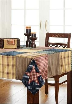 Patriotic Patch - Primitive Country Rustic