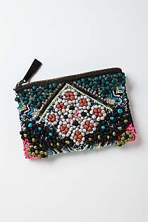 Anthropologie - Tacuba Pompom Pouch