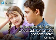Familia.com.br | #Orientação aos #filhos: #Namoro na #adolescencia.#Ensinandovalores