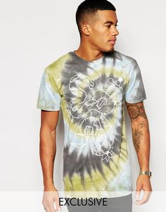 Altamont | Altamont Snake T-shirt In Tie Die at ASOS