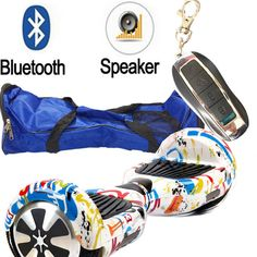 6.5 inch Two wheel Electric scooter Bluetooth/remote/bag /safety battery Hoverboard Electric Standing Drift Board