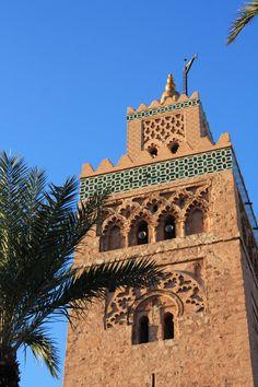 Koutubia minaret in Marrakech