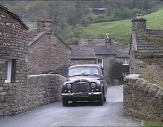 Opening Credits - Bridge & shop at Langthwaite, Arkengarthdale, North Yorkshire - Opening Credits on later episodes. Yorkshire England, Yorkshire Dales, North Yorkshire, Cornwall England, 1990s, James Herriot, Bradford City, English Village, English Cottages