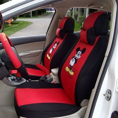 This product can protective the car seat and keep it new. 2 x Front seat covers. 1 x Rear seat covers. Disassembly convenient, wash easily, stay dry and comfortable interior space. 2 x Front backrest covers. | eBay!