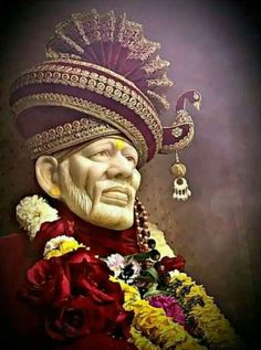 Sai g in pagri Hanuman Pics, Hanuman Images, Ganesh Images, Ganesha Pictures, Sai Baba Pictures, Sai Baba Photos, God Pictures, Sai Baba Hd Wallpaper, Ganesh Wallpaper