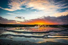 Fountain Geyser, Yellowstone
