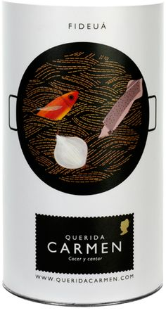 Lovely packaging from Querida Carmen.