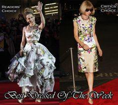 Best Dressed Of The Week – Sarah Jessica Parker In Vivienne Westwood