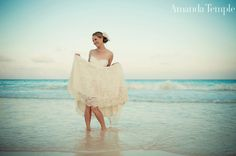 Trash the dress- love her facial expression
