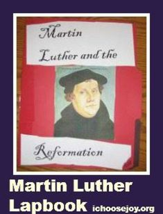 Learn more about Martin Luther and the reformation with this free Unit Study and Lapbook. Reformation Day, Reformation History, Martin Luther Reformation, Homeschool Curriculum, Homeschooling, Printable Activities For Kids, Mystery Of History, Teaching Social Studies, Mini Books
