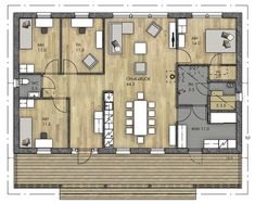 Bungalow, Future House, Tiny House, New Homes, Floor Plans, How To Plan, Projects, House Ideas, Inspiration