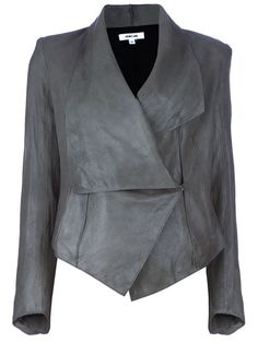 Shop Helmut Lang Drape Jacket in  from the world's best independent boutiques at farfetch.com. Over 1500 brands from 300 boutiques in one website.