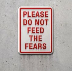 Do not feed the fears #OpEleanor