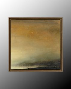 John Richard 17X17 Abstract Horizon III