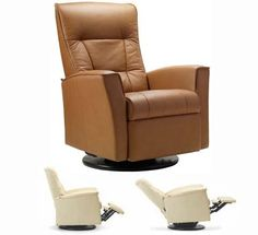 Fjords Ulstein Swing Relaxer Recliner Norwegian Ergonomic Scandinavian Lounge AntiGravity Reclining Chair Furniture Nordic Line Cappuccino Genuine Leather by Hjellegjerde -- Click on the image for additional details.Note:It is affiliate link to Amazon.