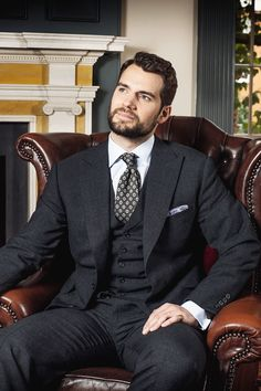 """mcavoys: """"Henry Cavill by Andy Fallon 