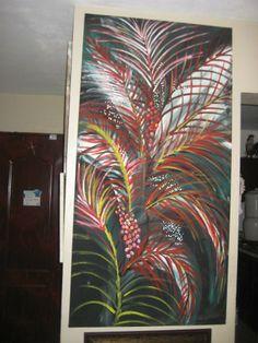 Flora Caribeña, oleo sobre lienzo (ampliar)