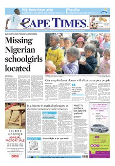News making headlines: Missing Nigerian school girl is located
