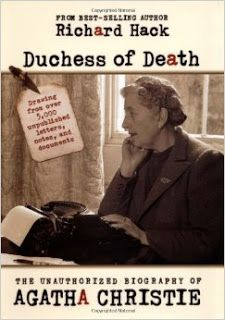 """A book review of Richard Hack's """"Duchess of Death: The Unauthorized Biography of Agatha Christie."""" #mystery #crimefiction #detective #agathachristie #biographies"""