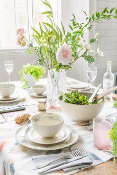 Floral Dining Room Inspiration