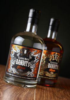 43'oz - Design Studio - Bandit Authentic Caribbean rum- World Packaging Design Society / 世界包裝設計社會 / Sociedad Mundial de Diseño de Empaques