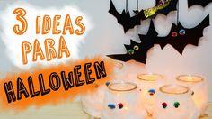 3 ideas DIY para decorar en Halloween | Manualidades