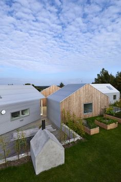 house - sides and roof clad in corrugated metal