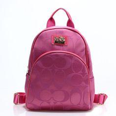 Coach Logo Monogram LZ701 Backpack In Rose