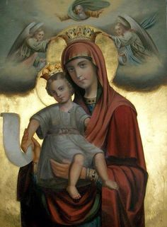Icon Religious Photos, Catholic Pictures, Religious Paintings, Religious Icons, Religious Art, I Love My Mother, Blessed Mother Mary, Blessed Virgin Mary, Madonna Art