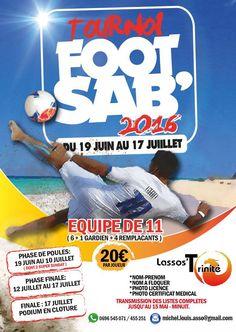 Tournoi de Foot Sab' 2016 Vous aussi intégrez vos événements dans l'Agenda des Sorties de www.bellemartinique.com C'est GRATUIT ! #martinique #concert #agenda #sortie #soiree #Antilles #domtom #outremer